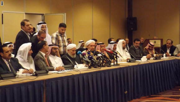 """شرکت کنندگان در کنفرانس """"نجات عراق وحمایت از انقلابیون مبارز آن"""" خواستار استعفای نوری المالکی شدند"""