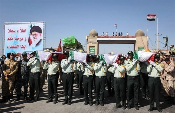 ایران در مرکز وتنها کشور درگیر در باتلاق عراق وسوریه است