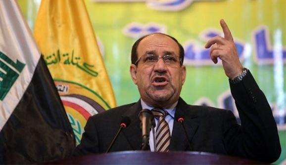 مالکی برای ماندن در پست نخست وزیری رئیس جمهور عراق را تهدید کرد