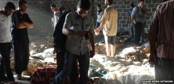 در اولین سالگرد جنایت شیمیایی اسد در غوطه شرقی رهبر ائتلاف ملی سوریه بر ادامه مبارزه تأکید کرد