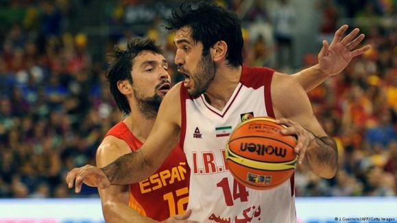 شکست تیم ایران از اسپانیا در آغاز جام جهانی بسکتبال ۲۰۱۴