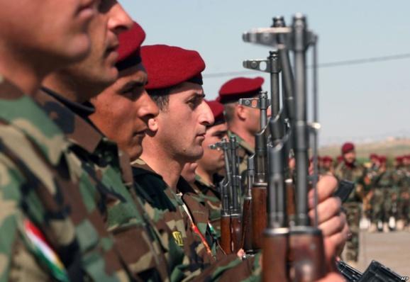 آغاز آموزش تسلیحاتی رزمندگان پیشمرگه کردستان توسط آلمان