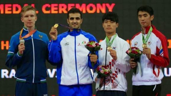 رزمی کاران ایران در بازی های آسیایی اینچئون سه مدال طلای دیگر برای ایران به ارمغان آوردند