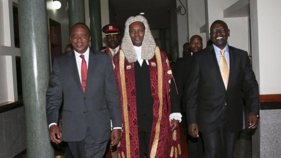 محاکمه رئیس جمهوری کنیا در لاهه به اتهام نسلکشی