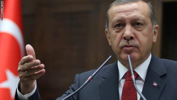 اردوغان با تاکید بر شرط ترکیه برای ورود به کوبانی رژیم اسد را عامل ظهور وبقای داعش دانست