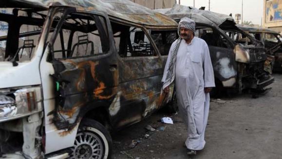 شمار قربانیان انفجارهای انتحاری در قره تپه، در عراق، به بیش از چهل کشته رسید