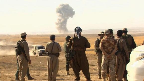 نیروهای «ارتش آزاد سوریه» به شبه نظامیان کرد در کوبانی پیوستند