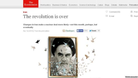 تحلیل اکونومیست از «فروکش کردن تب انقلاب» در ایران