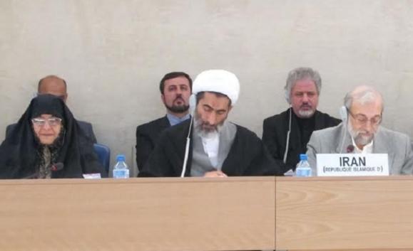 روضه خوانی در صحن مبارک شورای حقوق بشر در ژنو