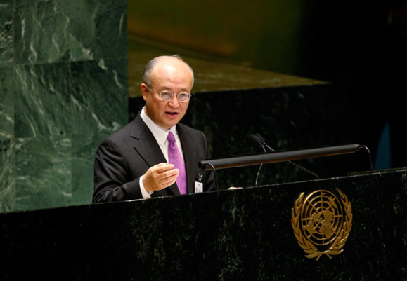 یوکیا امانو:نمی توان تضمین کرد که برنامه هسته ای ایران نظامی نیست