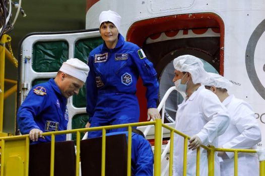 یک زن فضانورد به ایستگاه فضایی بینالمللی اعزام میشود