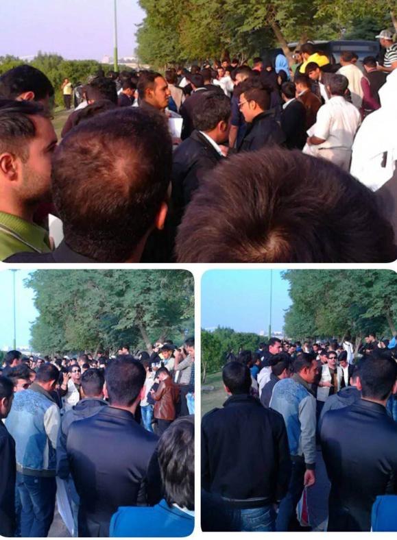 حمله نیروهای انتظامی و لباس شخصی به حامیان کارون و بازداشت شماری از آنها