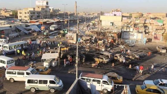 130 کشته ومجروح شمار قربانیان بمب گذاریهای دیروز عراق