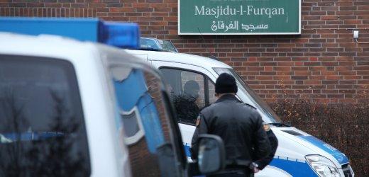 پلیس آلمان مسجد افراط گرایان اسلامی را بست