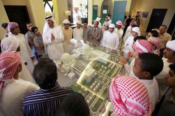 امارات از راه اندازی اولین نیروگاه اتمی خود تا سال 2017 خبر داد