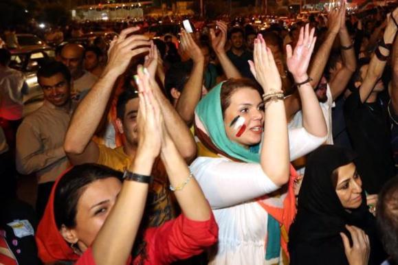 برتری تیم ملی فوتبال ایران در آفریقای جنوبی