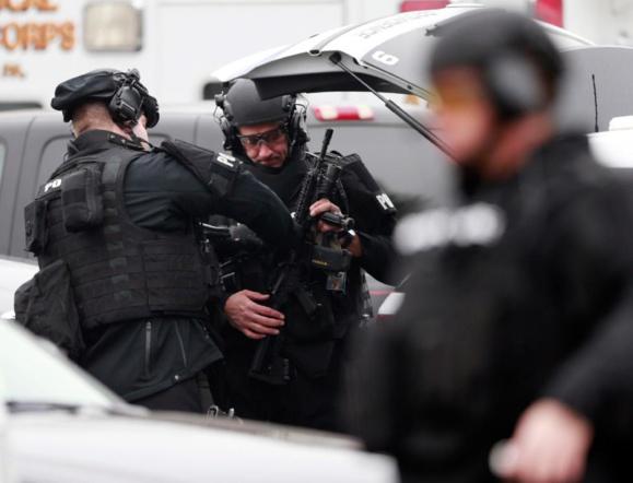 یک فرد مسلح دو مامور پلیس آمریکا را کشت