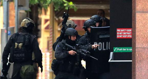 واحدهای ضد ترور دو مرد را در سیدنی بازداشت کردند