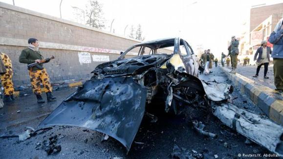 دهها کشته و زخمی در یک حمله انتحاری در پایتخت یمن