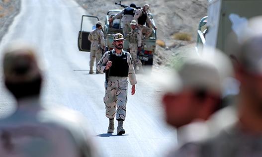 ترور سه مامور نیروی انتظامی در بلوچستان ایران