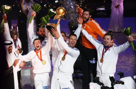 رکوردشکنی تیم ملی هندبال فرانسه با کسب قهرمانی جهان