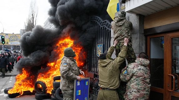 طرح صلح آلمان و فرانسه برای پایان دادن به بحران اوکراین