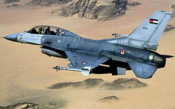 اردن مواضع داعش در رقه را بمباران کرد