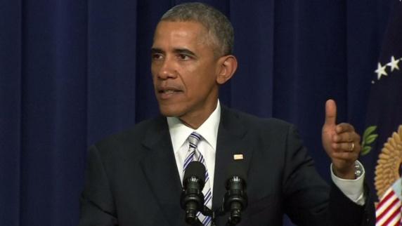 اوباما: خوانشهای تروریستی از اسلام، اسلام نیستند