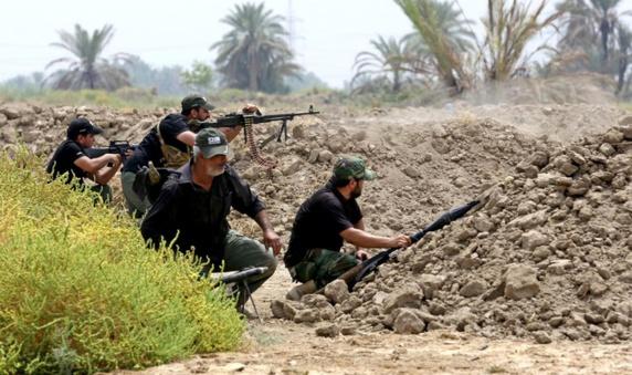 """حمله ارتش عراق به مرکز """"دولت اسلامی"""" در تکریت"""
