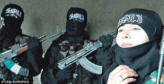 ۹ دختر زیر ۱۸ سال آلمانی در صف جهادگرایان سوریه و عراق