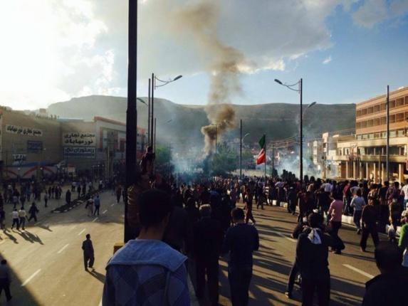 عفو بین الملل خواهان خویشتن داری پلیس ایران در برابر معترضان «کرد» شد