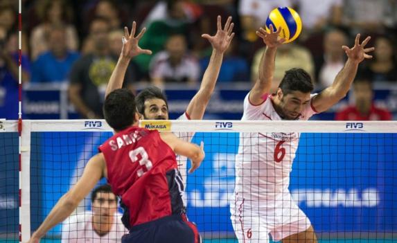 سومین شکست پیاپی تیم ملی والیبال ایران