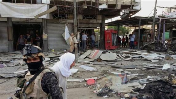 14 کشته ودهها مجروح در پی انفجار خودروی بمب گذاری شده در یکی از شهرهای عراق