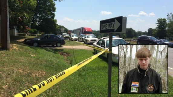فرد مظنون به قتل ۹ نفر در کليسای چارلستون دستگير شد