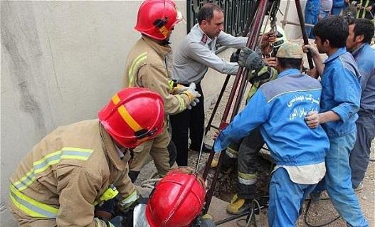 کشته شدن دو کارگر در تهران بر اثر «گاز گرفتگی در چاه»
