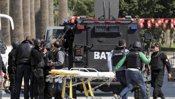 دستگیری ۱۲ نفر به اتهام همدستی درحمله تروریستی تونس