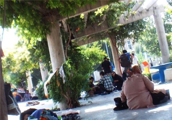 گزارش تکاندهنده از پارک معتادان در پایتخت ایران