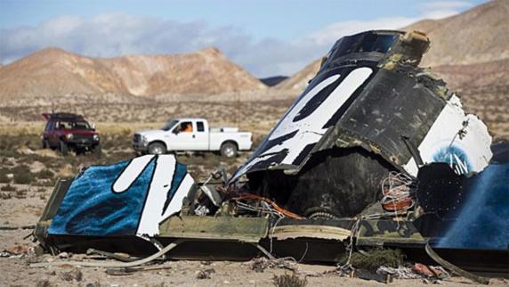 اشتباه در استفاده از سیستم ترمز باعث سقوط فضاپیمای ویرجین گالاکتیک شد