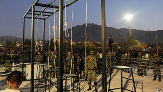 ایران و چین در رتبه نخست اعدام در سال ۲۰۱۴
