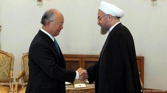 امانو: ایران با کارشناسان آژانس بین المللی انرژی اتمی همکاری نمی کند