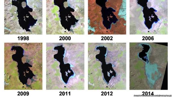 عضو ستاد احیای دریاچه ارومیه: آمریکاییها میگویند انتقال آب از جای دیگر راهکار نیست