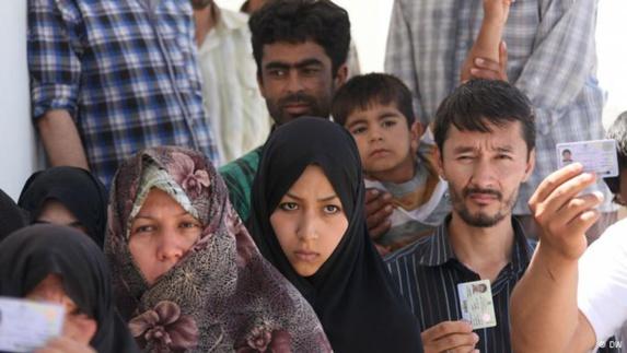 بازداشت و بدرفتاری با مهاجران افغان در چند شهر ایران