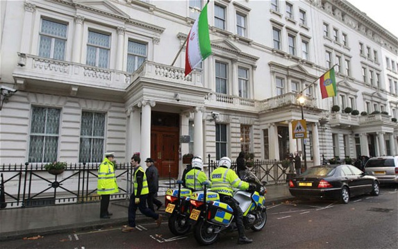 سفارت ایران در لندن فردا بازگشایی میشود