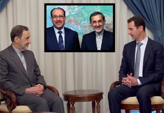 ایران تا آخر از بشار اسد دیکتاتور خون آشام سوریه حمایت میکند