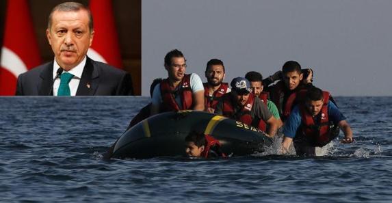اردوغان از کشورهای کنار دریای مدیترانه درباره آوارگان به شدت انتقاد کرد