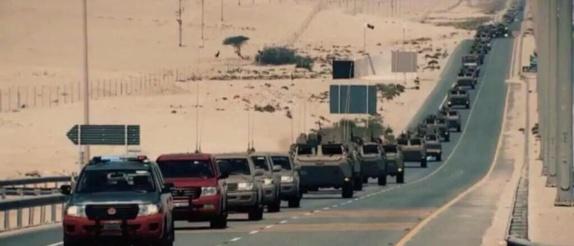 قطر به یمن تجهیزات مدرن نظامی همراه با نیروی زمینی اعزام کرد