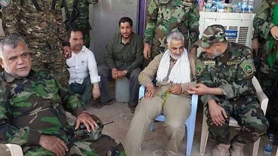 آمريكا فرماندهان عراقی مزدور ایران را از ورود به  اتاق عمليات مشترك ممنوع كرد