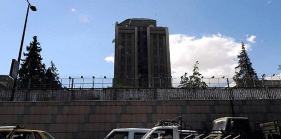حمله خمپاره ای به سفارت روسیه در دمشق