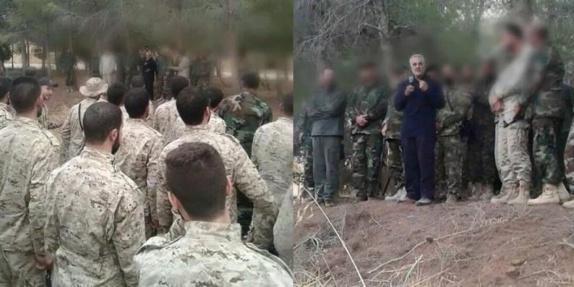 در پی شکست نیروهای حامی بشار اسد در برابر ملت قهرمان سوریه رژیم تهران هزاران سرباز ایرانی را راهی آن کشور کرد