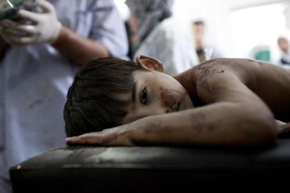 کودکان سوریه به بهانه دفاع از حرم زینب قتل عام می شوند